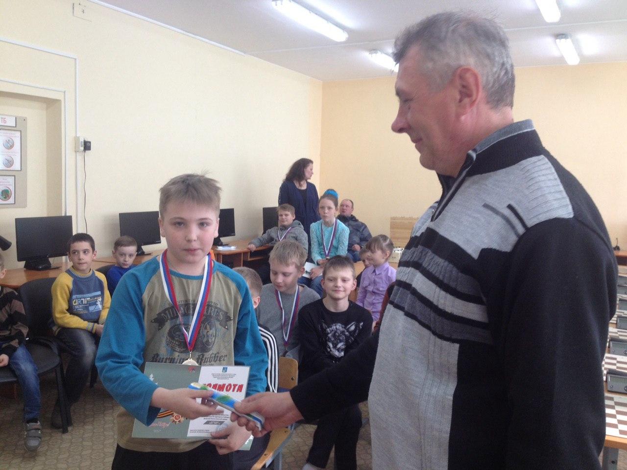 Митрушов Сергей - 2 место в своей возрастной группе.