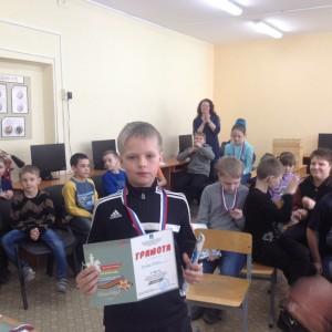 Степа Рунев - 3 место в своей возрастной группе.